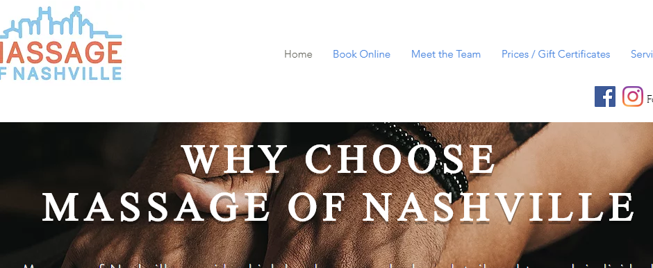 Experienced Sports Massage in Nashville