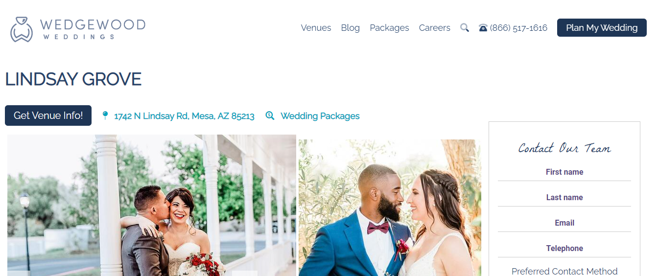 preferred Wedding Planners in Mesa, AZ