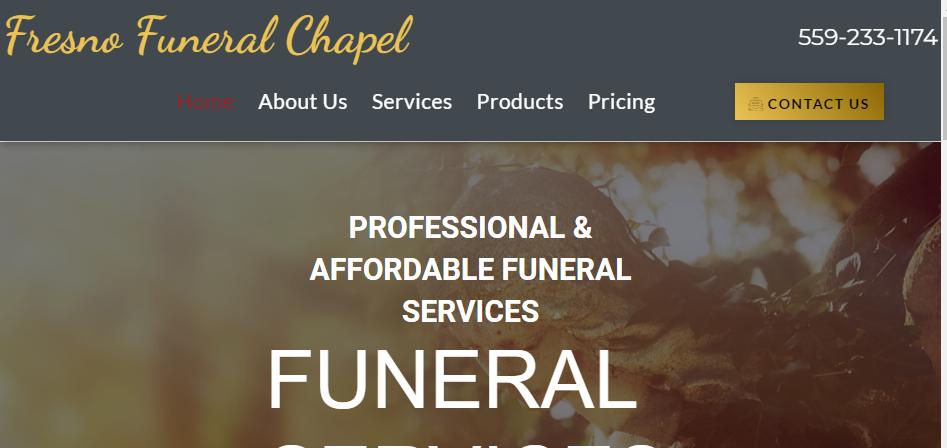 Comprejemisve Funeral Homes in Fresno