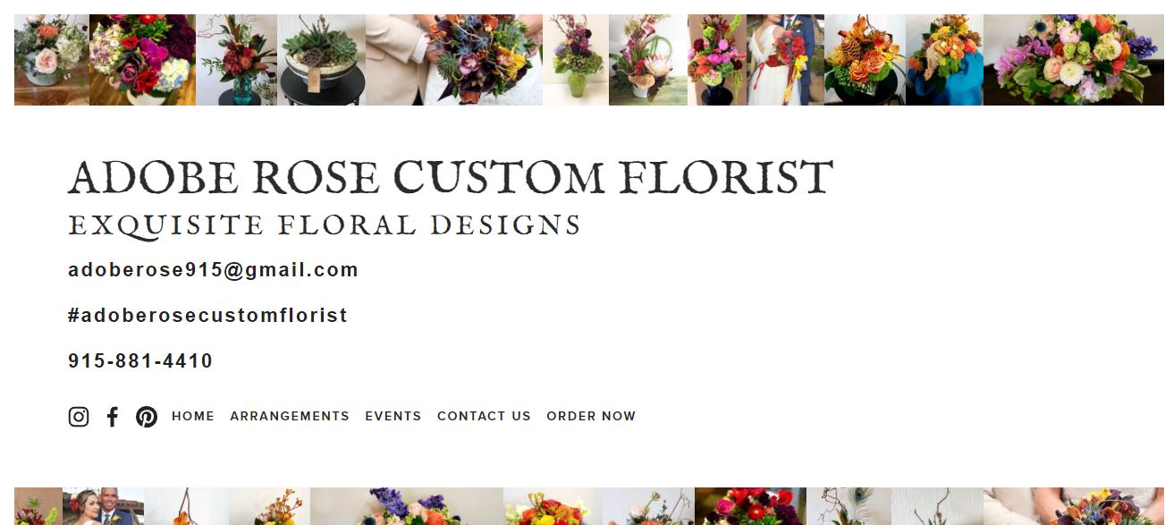 Adobe Rose Custom Florist in El Paso, TX