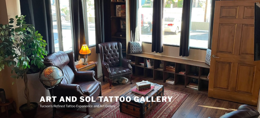Art and Sol Tattoo Gallery in Tucson, AZ