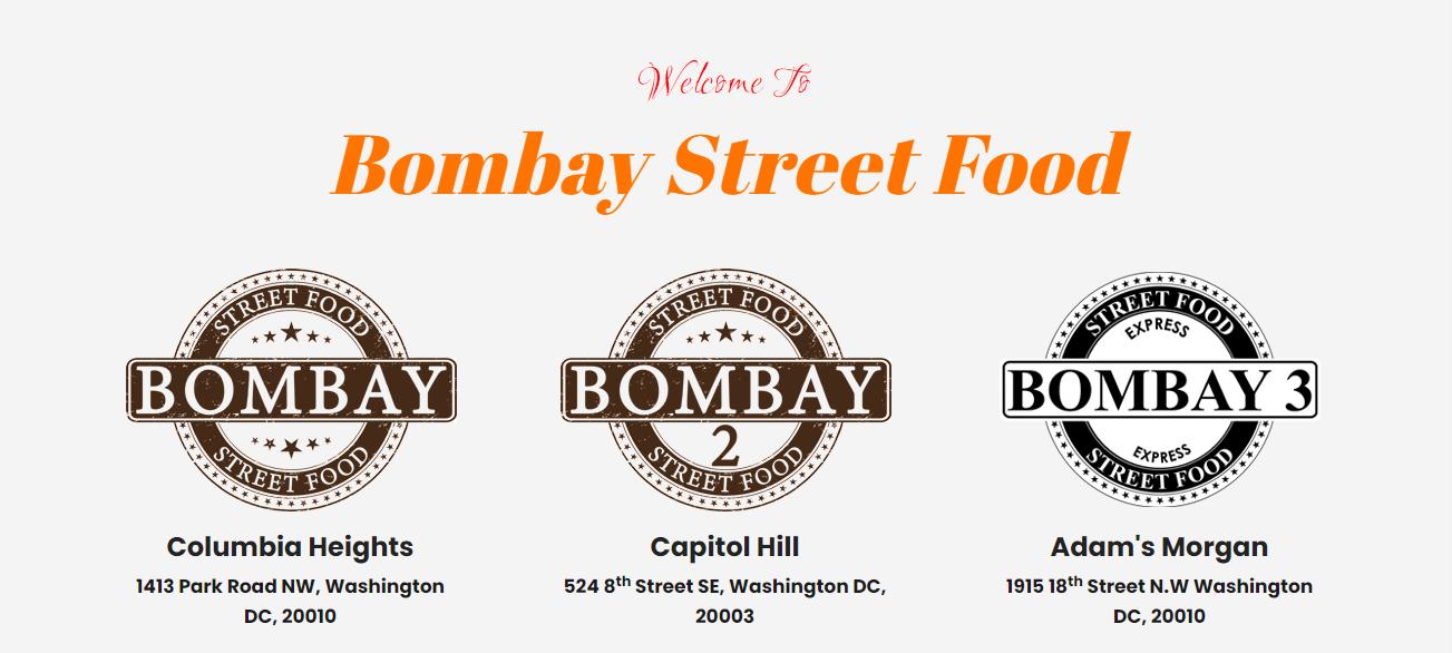 Bombay Street Food in Washington, DC