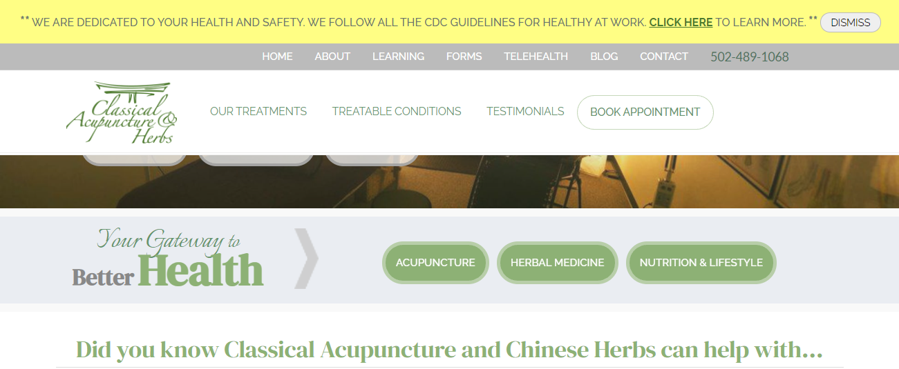 Classical Acupuncture & Herbs in Louisville, KY