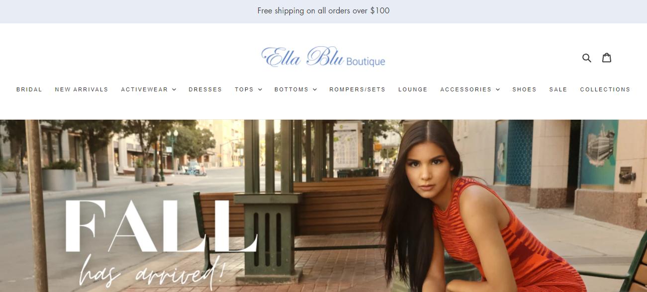Ella Blu Boutique in El Paso, TX