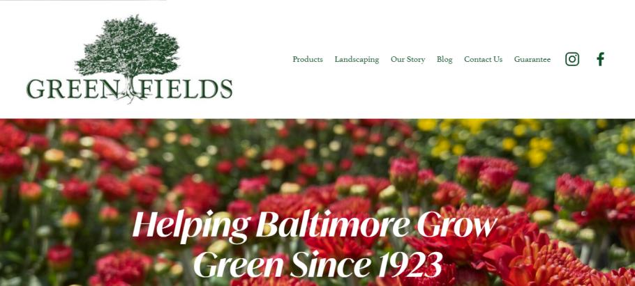 Green Fields Nursery in Baltimore, MD
