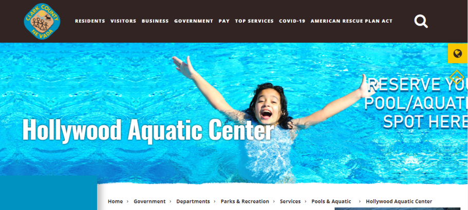Hollywood Aquatic Center in Las Vegas, NV