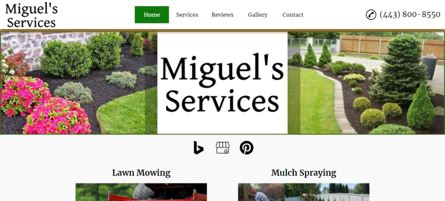 Miguel's Services in Baltimore, MD