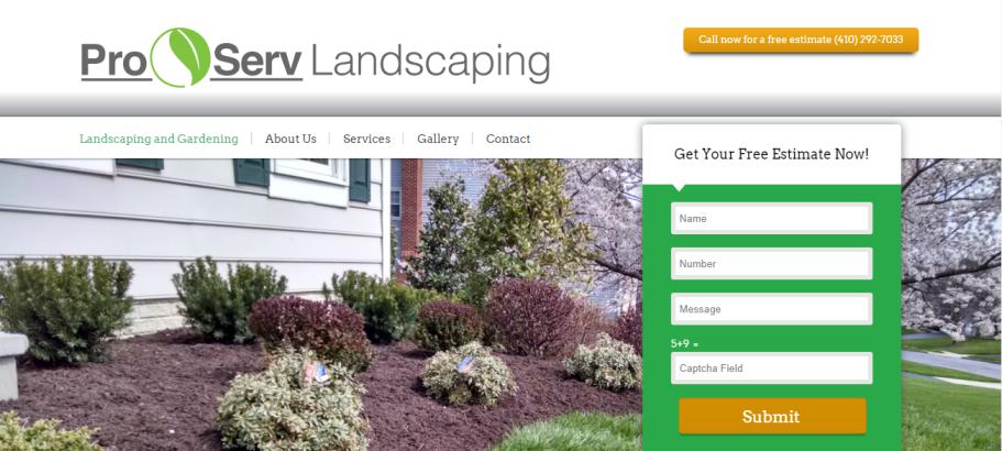 ProServ Landscaping in Baltimore, MD