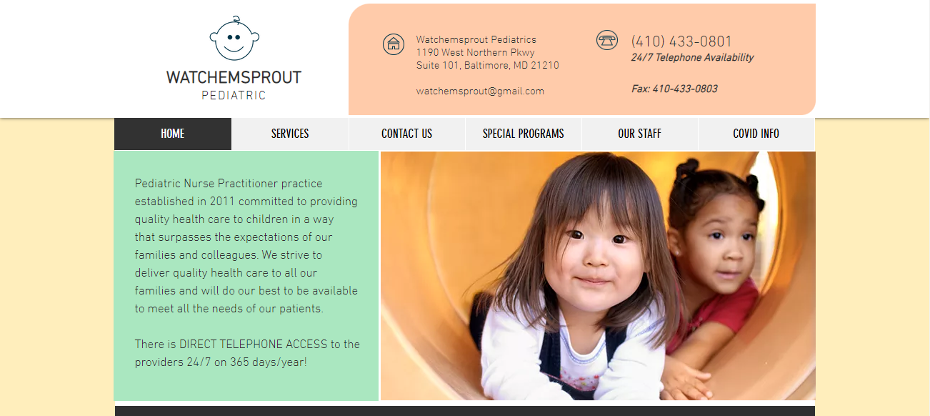 Watchemsprout Pediatrics in Baltimore, MD