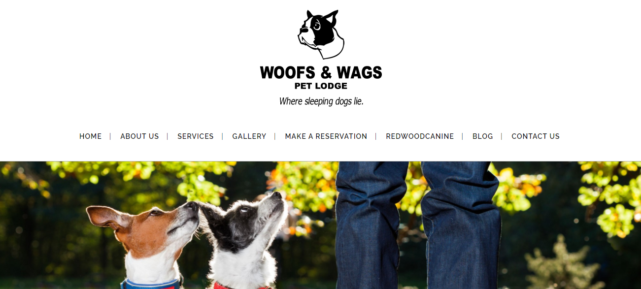 Woofs and Wags Pet lodge in Baltimore, MD
