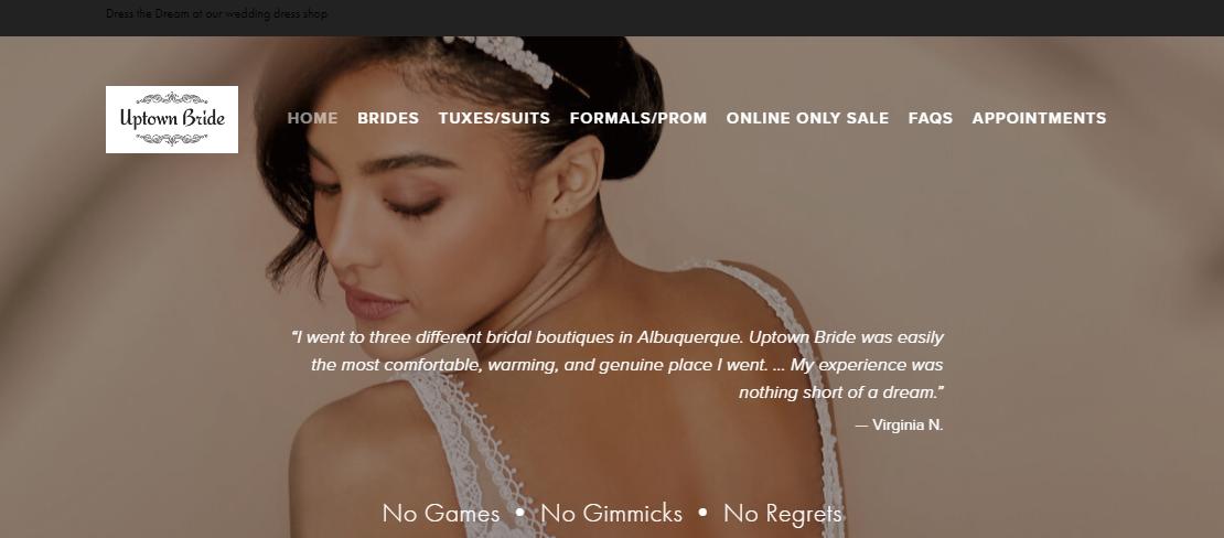 Uptown Bride Bridals in Albuquerque, NM