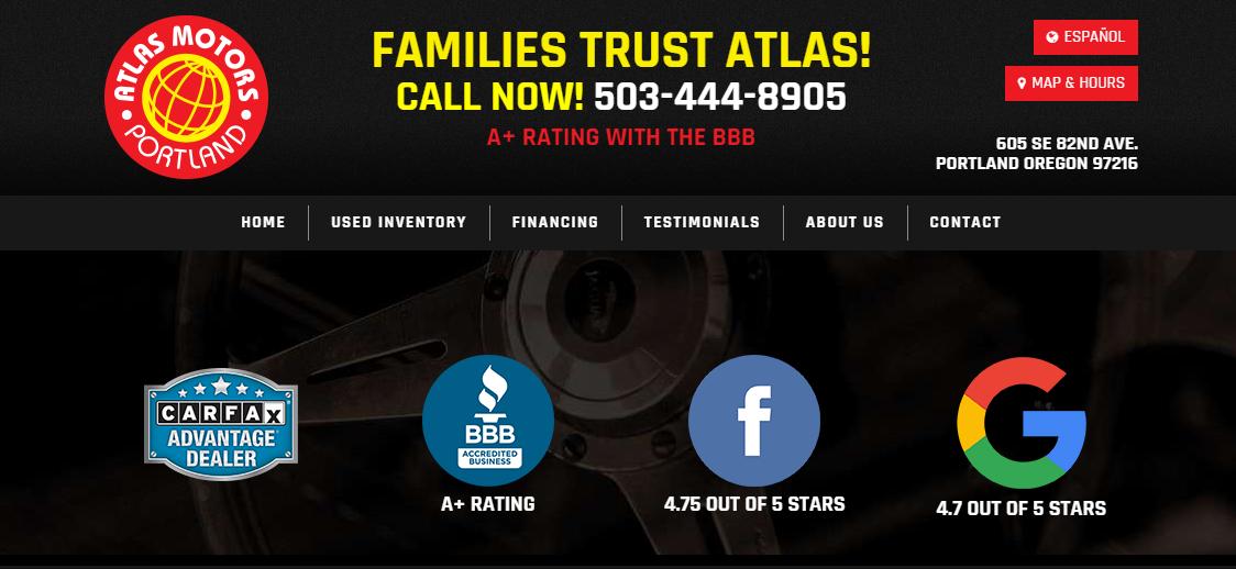 Atlas Motors LLCCar Dealerships in Portland, OR