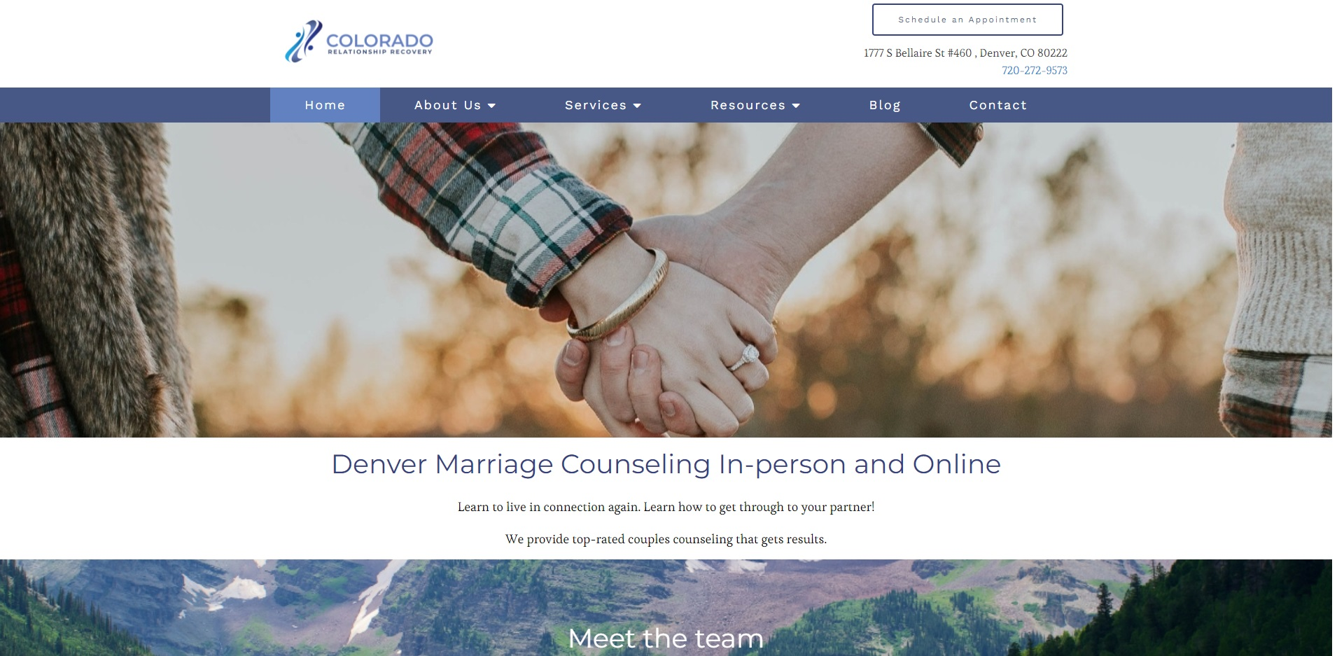 The Best Marriage Counseling in Denver, CO