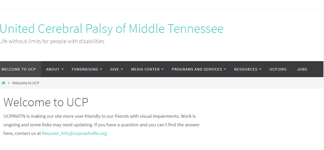 United Cerebral Palsy of Middle Tennessee