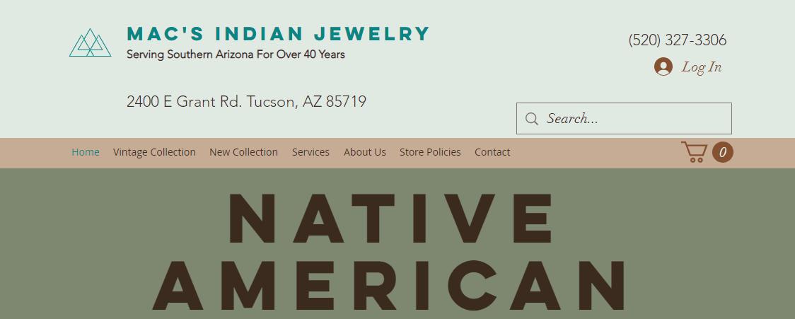 Mac's Indian Jewelry Tucson, AZ