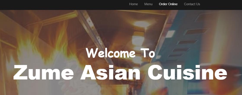 Zume Asian Cuisine Denver, CO