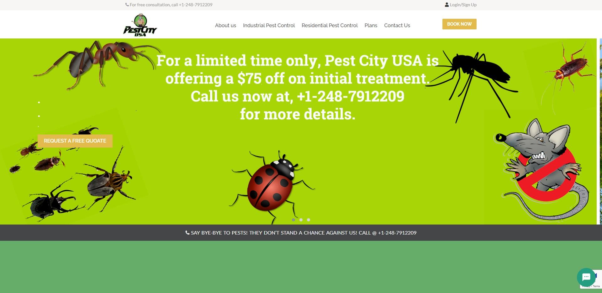 Detroit, MI's Best Exterminators