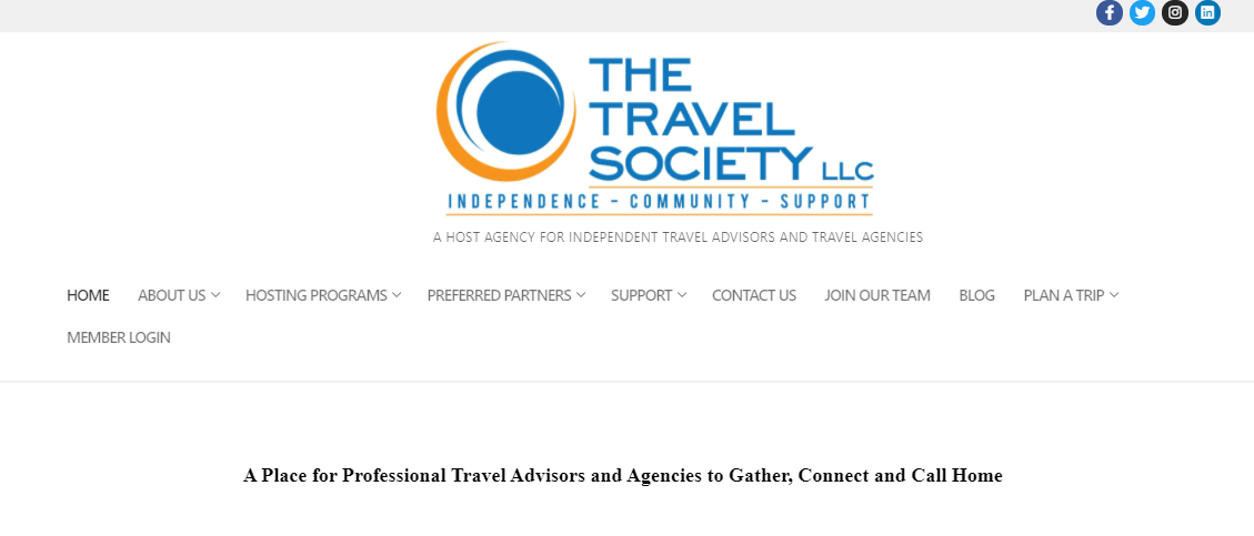 The Travel Society Denver, CO