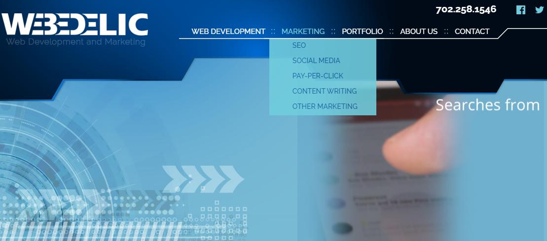 Webedelic Web Development Las Vegas, NV